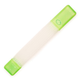 Clover Knitting Needle Tube Case Green