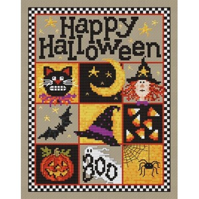 Sue Hillis Designs Happy Halloween! - L423 - Leaflet