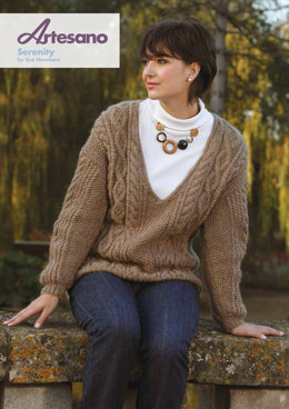 Serenity Sweater in Artesano Aran