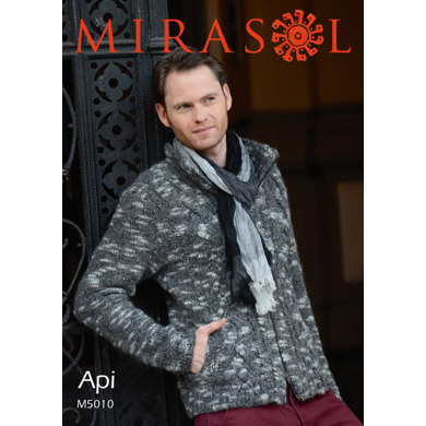 Men Jacket and a Hat in Mirasol Api - 5010
