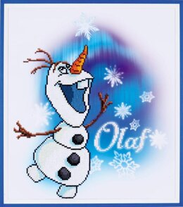 Vervaco Disney Olaf Diamond Painting Kit - Multi