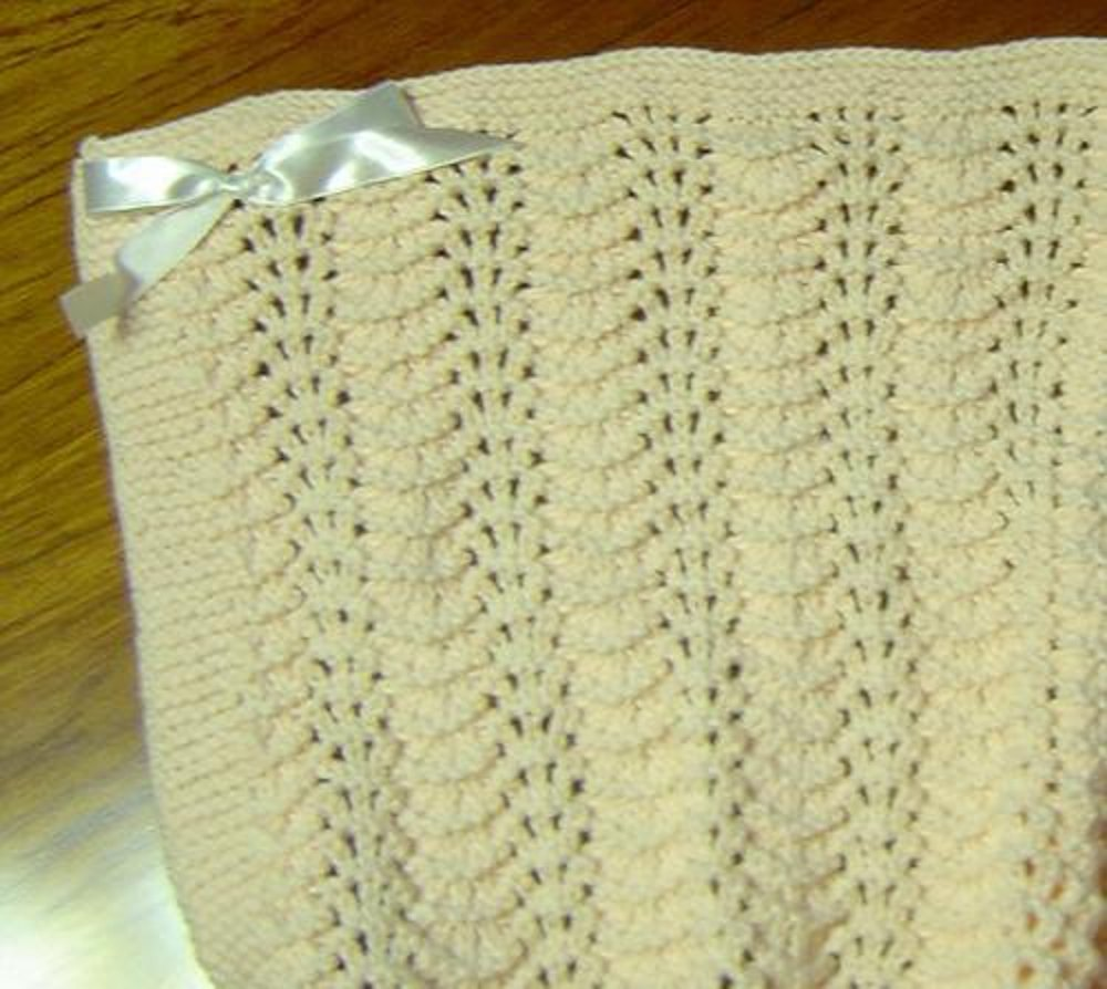 Sweetie Baby Blanket Knitting Pattern By Terry Morris Knitting