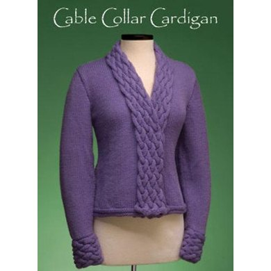 Cable Collar Cardigan #163