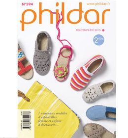 Phildar Mini Catalogue Spring/Summer 2015 Issue 594