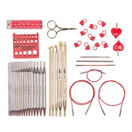 Addi Click Interchangeable Needles Tips by Woolly Hugs (Set of 13)