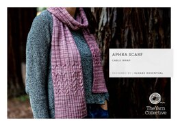 """Aphra Scarf by Sloane Rosenthal"" - Scarf Knitting Pattern For Women in The Yarn Collective"