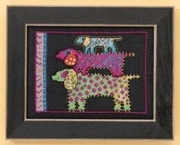 Mill Hill Dog Pyramid Dogs Collection Cross Stitch Kit