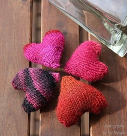 Knit hearts to be my Valentine