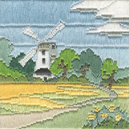 Derwentwater Designs Windmill Silken Long Stitch Kit - Multi