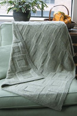 Reversible Afghan to Knit