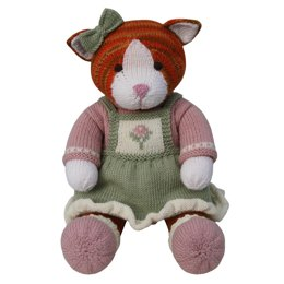 Flower Pinafore Outfit (Knit a Teddy)