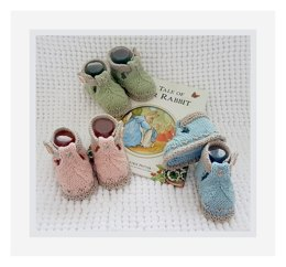 BunnyKids Booties Series 1 for 0 - 18 months