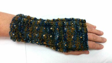 Jeweled Driving Mitts