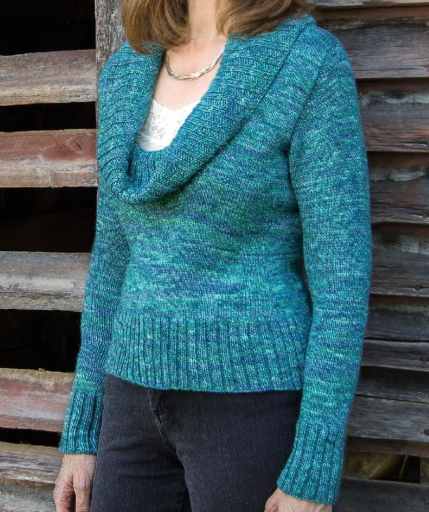 Acadia Top-Down Pullover #102 Knitting pattern by Sue ...