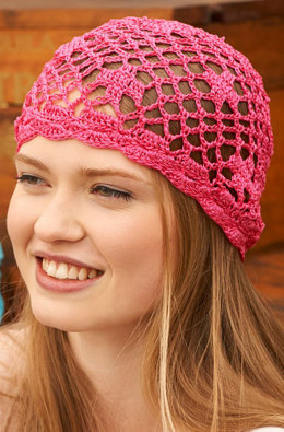Biba Style Beanie in Aunt Lydia's - LC4492 - Downloadable PDF