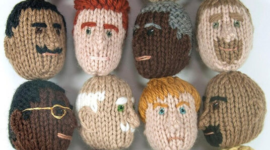 knitted dads