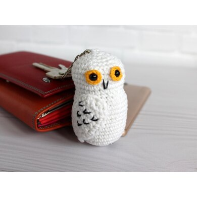 Owl Hedwig keychain / Harry Potter character