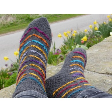 Colour Me Crazy Knitting Pattern By Helen Gipson Knitting Patterns