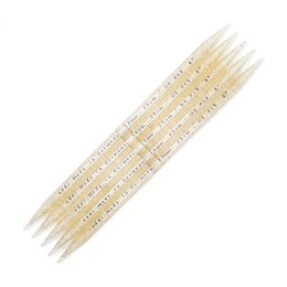 Addi White Plastic Double Point Needles 20cm