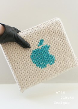 "Cotton Delicious Apple Tablet Case (8.5"" x 10"") (tunisian003)"