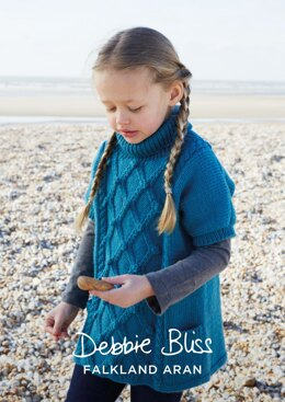 Eden Tunic in Debbie Bliss Falkland Aran - DBS031 - Downloadable PDF