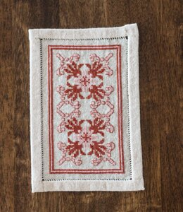 Avlea Folk Embroidery Bitkit Byzantine Star - Downloadable PDF