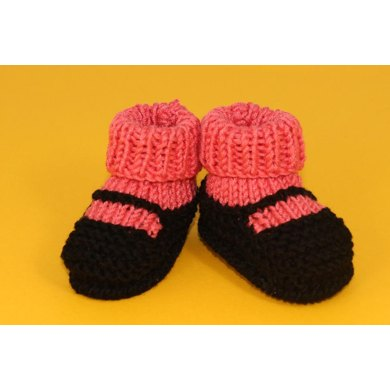 Baby Sock and Slipper Booties