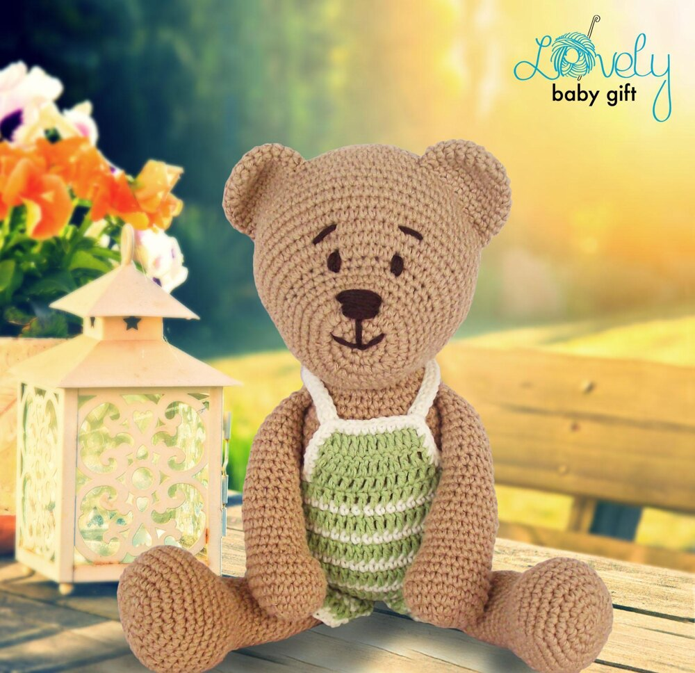 15 Crochet Teddy Bear Patterns | 968x1000