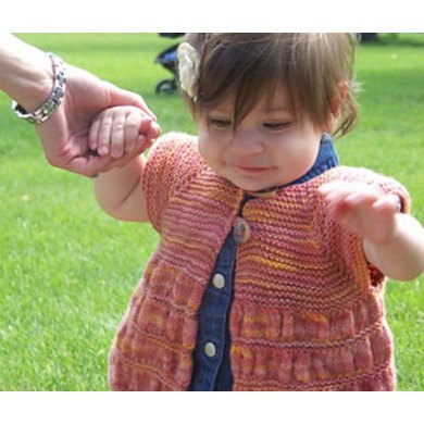 Baby Ruched Cardigan