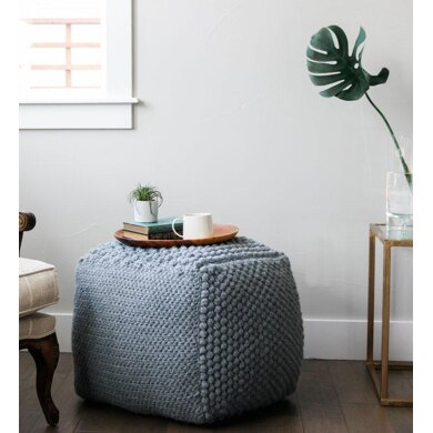 Sampler Bean Bag Pouf