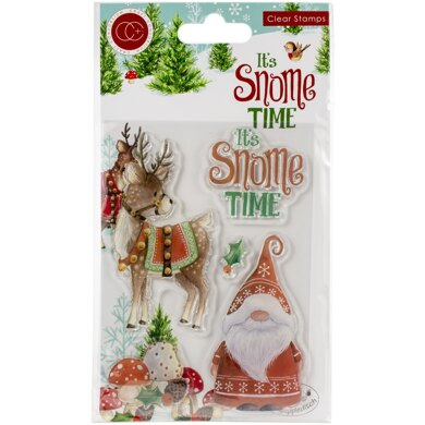 Craft Consortium A5 Clear Stamps - It's Snome Time