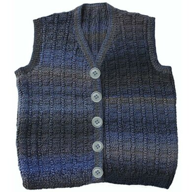 Braided Grid Vest