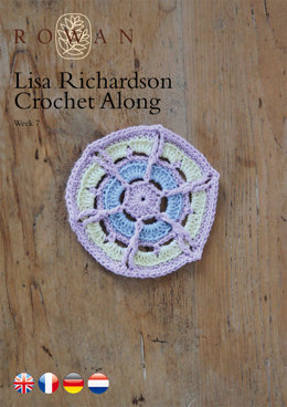 Lisa Richardson Crochet Along Week 7 in Rowan Summerlite 4 Ply