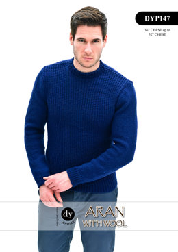 Jumper in DY Choice Aran With Wool - DYP147