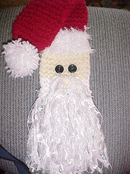 Santa Scarf - Loom Version