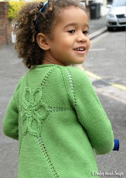 Flower Cardigan (kids)