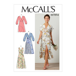 McCall's Misses' Dresses M7894 - Sewing Pattern