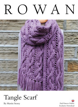 Tangle Scarf in Rowan Big Wool