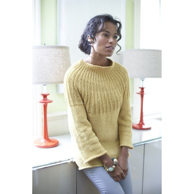 Radiant Sweater in Lion Brand Cotton-Ease - 60581AD
