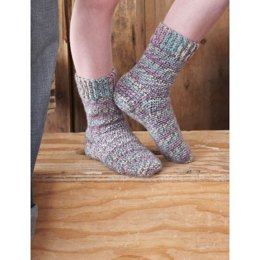 Family Crochet Socks in Patons Kroy Socks