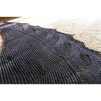 Coast Starlight Shawl