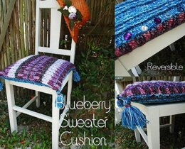 Blueberry Sweater Cushion