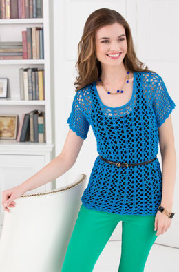 Breezy-T in Aunt Lydia's Fashion Crochet Thread Size 3 Solids - LC3334