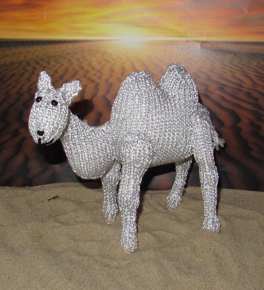 Silver Camel Toy Animal Knitting pattern by madmonkeyknits ...