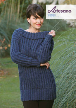 Elation Sweater in Artesano Aran