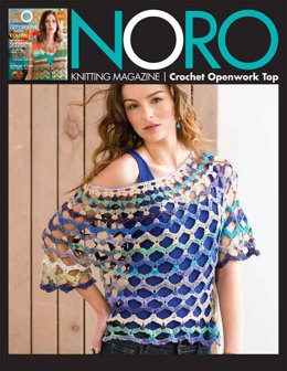 Crochet Openwork Top in Noro Taiyo Sock - 03 - Downloadable PDF