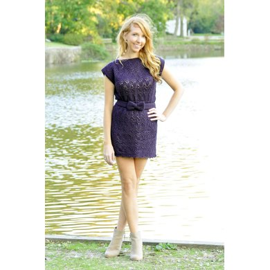 Take A Bow Lace Dress And Top Knitting Pattern By Lauren Riker