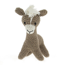Hoooked Llama Laurie - 29 x 20 cm (Taupe)