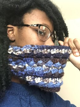 Blueberry Crumble Cowl
