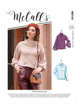 McCall's WytheMcCalls - Misses' Tops M8144 - Sewing Pattern